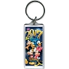 Disney Lucite Keychain Keyring - 2017 - Party Pals