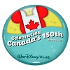 Disney Souvenir Button - Canada's 150th Hometown