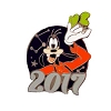 Disney Mystery Pins - 2017 Mickey and Friends - Goofy