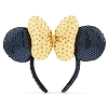 Disney Made With Magic Headband - Minnie Mouse Sequined Ear - Golden