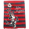 Disney Cinch Sack Backpack Bag - Cruise Line - Ahoy Minnie Mouse