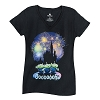Disney LADIES Shirt - Aliens at Castle - Ooooooh!