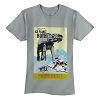 Disney Adult Shirt - Star Wars Poster - Hoth