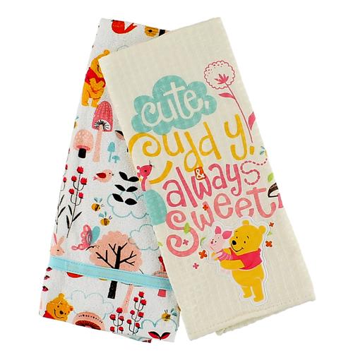 Your Wdw Store Disney Kitchen Towel Set Winnie The Pooh