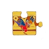 Disney Character Connection Pin - Aladdin Puzzle - Iago