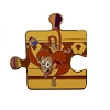 Disney Character Connection Pin - Aladdin Puzzle - Abu
