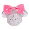 Disney Ornament - Reinhard Herzog - Minnie Mouse with Pink Bow - Large