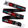 Twenty One Pilots Seatbelt BELT - DC Comics - Suicide Squad