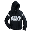Disney ADULT Shirt - Star Wars Logo Pullover Hoodie for Women
