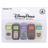 Disney Highlighters - Trash Can Highlighter Set of 5