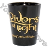 Disney World Shot Glass - Disney Animal Kingdom - Rivers Of Light