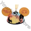 Disney Ear Hat Ornament - Disney Animal Kingdom - Rivers of Light