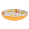 Disney Plastic Serving Bowl - Citrus Mickey Icon Serving Bowl