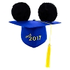 Disney Hat - Ears Graduation Cap - Class of 2017 - Mortarboard