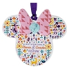 Disney Disc Ornament - 2017 Epcot Flower and Garden - Minnie Icon Logo