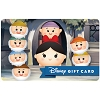 Disney Collectible Gift Card - Snow White and the Seven Tsums