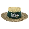 Disney Straw Sun Hat - 2017 Epcot Flower and Garden Festival Logo