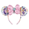 Disney Ears Headband - 2017 Flower and Garden Festival Logo Minnie Bow
