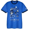 Disney Adult Tee - 2017 Flower and Garden Mickey Landscaping Ringer