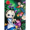 Disney Postcard - Alice in the Garden by Jasmine Becket-Griffith
