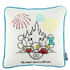 Disney Throw Pillow - Mickey and Minnie Castle - My Happy Place Pillow