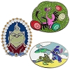 Disney Pin Set - Disney Store 30th Anniversary Limited Release - Week 5