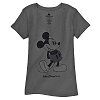 Disney Women's Shirt - Classic Mickey Walt Disney World - Grey
