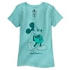 Disney Women's Shirt - Classic Mickey Walt Disney World - Teal