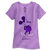 Disney Women's Shirt - Classic Mickey Walt Disney World - Purple
