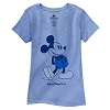 Disney Women's Shirt - Classic Mickey Walt Disney World - Blue