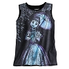 Disney LADIES Shirt - Haunted Mansion Stretch Painting Aerialist Tank
