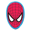 Disney Automotive Car Magnet - Marvel Spider-man Face Mask - Metallic