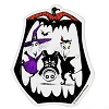 Disney Automotive Car Magnet - NBC Lock Shock and Barrel