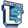 Disney Automotive Car Magnet - Monsters University - Sulley U