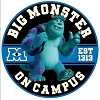 Disney Automotive Car Magnet - Monsters University - Big Sulley