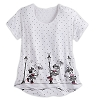 Disney LADIES Shirt - Minnie Mouse Dolman Fashion Tee for Women