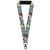 Disney Designer Lanyard - The Little Mermaid - Ariel Sebastian & Flounder