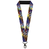 Disney Designer Lanyard - Beauty & the Beast - Stained Glass Window
