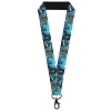 Disney Designer Lanyard - Cinderella Ball - Night Sky