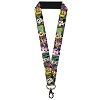 Disney Designer Lanyard - Mini Minnie Fashion Poses Polka Dot Black