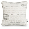 Disney Throw Pillow - Disney Parks Text Art