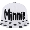 Disney Baseball Cap - Black and White Minnie Dots