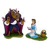 Disney Figurine Set - Beauty and the Beast in the Meadow