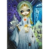 Disney Postcard - The Bride Returns by Jasmine Becket-Griffith