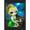 Disney Postcard - Tinker Bell at Skull Rock by Jasmine Becket-Griffith