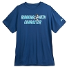 Disney Adult Shirt - Mickey Mouse runDisney Performance Tee - Blue