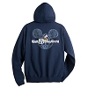 Disney ADULT Hoodie - Mickey Mouse with Walt Disney World Logo - Navy
