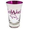 Seaworld - Tall Shot Glass - Metallic - Pink Dolphin