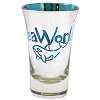 Seaworld - Tall Shot Glass - Metallic - Blue Orca