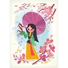 Disney Postcard - Mulan by Joey Chou